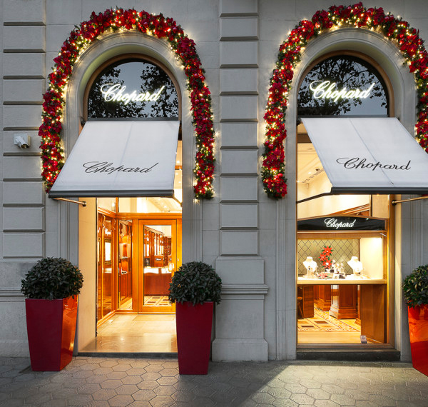 Chopard boutique finnest jewelry watches paseo de gracia barcelona